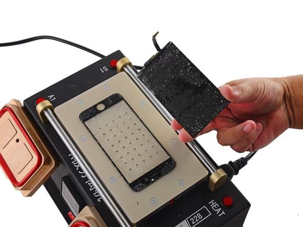 trocar vidro iphone