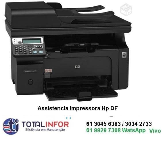 conserto de impressora hp