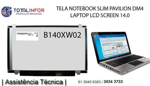 tela notebook melhor preço e garantia do df