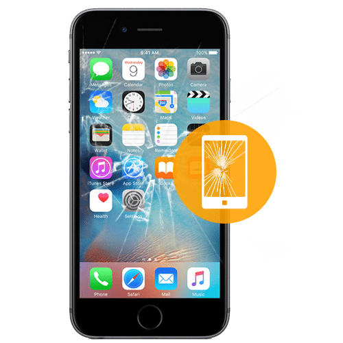 trocar vidro iphone 7