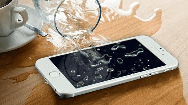 assistencia celular molhado - iphone xiaomi