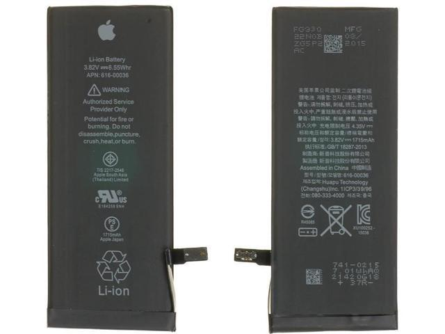 Bateria iPhone 6 1810 mAh 616-0804 - Total Infor DF