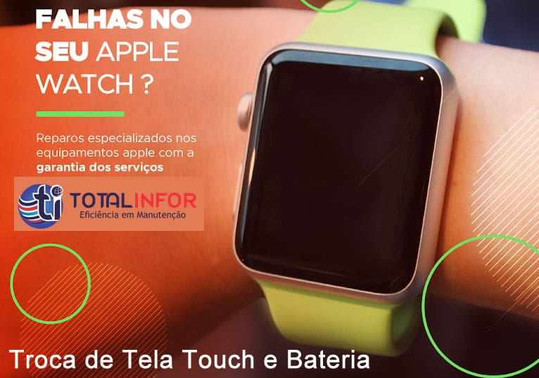Conserto de Apple Watch