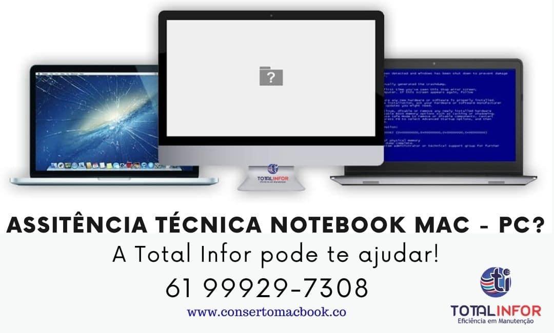 conserto de notebook taguatinga
