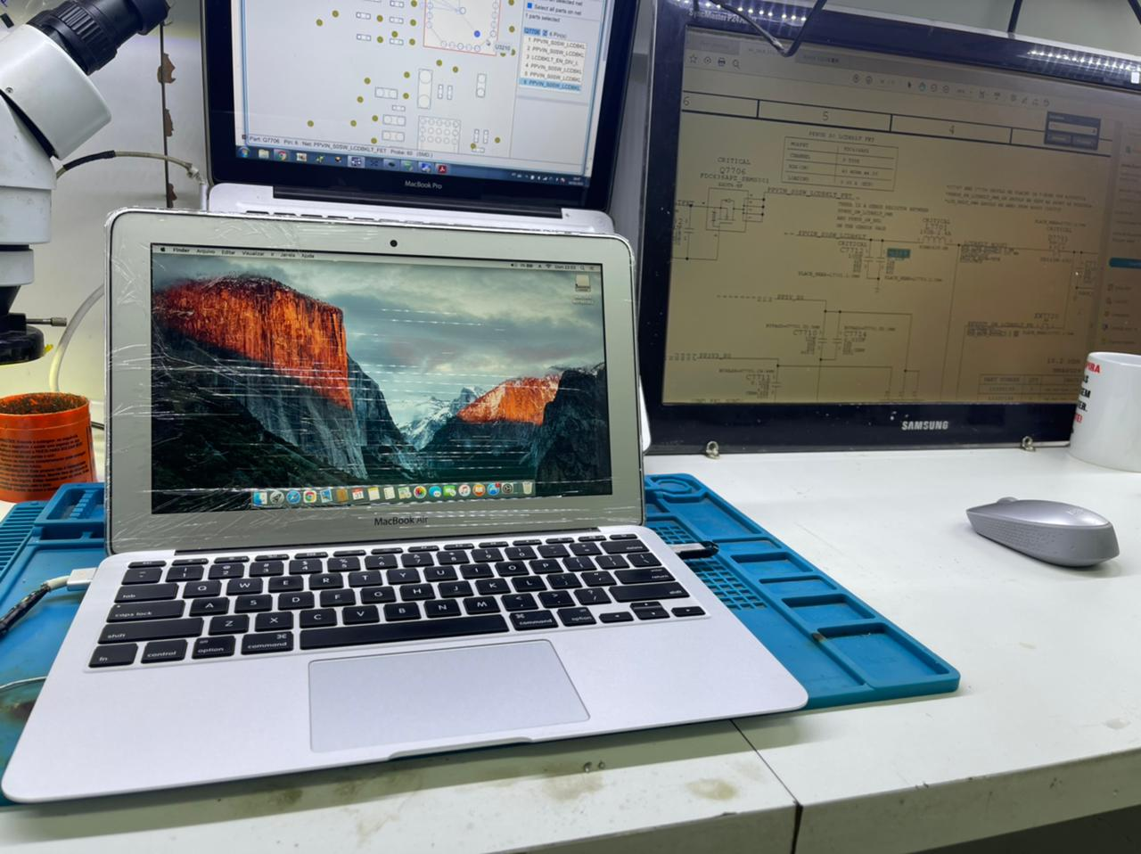 Conserto Macbook Air